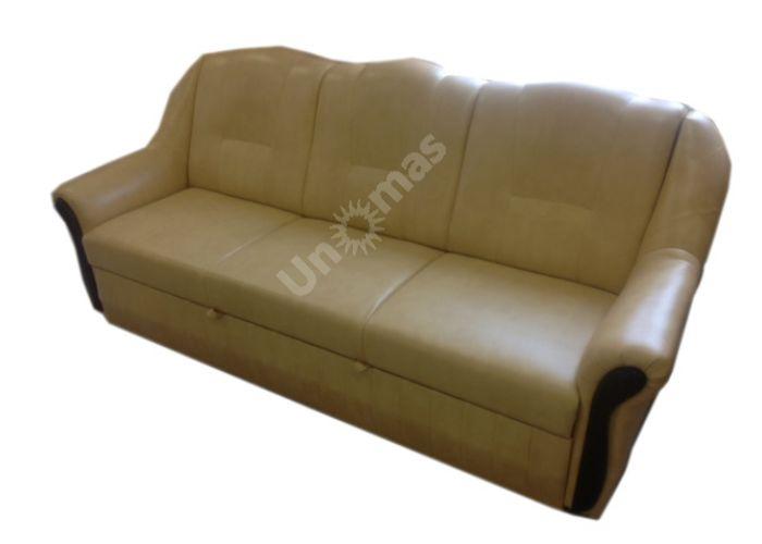 Кондор Диван к/з Мадрас голден беж, Мягкая мебель, Диваны, Прямые диваны, Стоимость 27492 рублей.