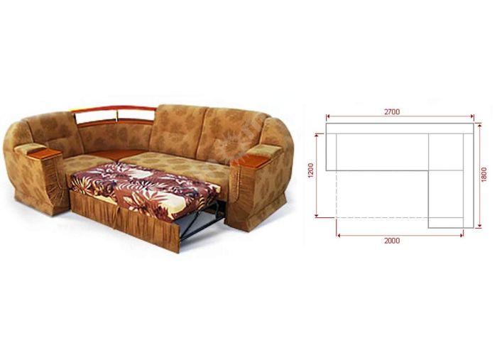 Модерн Угловой диван, Мягкая мебель, Угловые диваны, Стоимость 38326 рублей., фото 3
