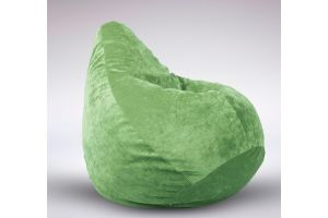 Груша микровелюр 110х90, салатовый