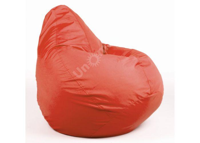 Груша ткань Оксфорд 130х100, красный, Мягкая мебель, Бескаркасная мебель, Стоимость 4275 рублей.