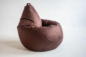 Кресло-груша Оксфорд коричневый