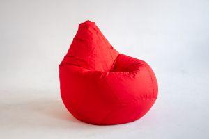 Кресло-груша Оксфорд красный