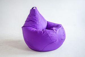 Кресло-груша Оксфорд фиолетовый