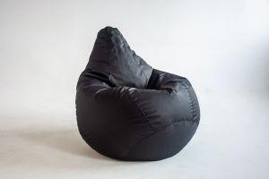 Кресло-груша Оксфорд черный