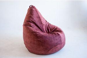 Кресло-груша Микровелюр марсала