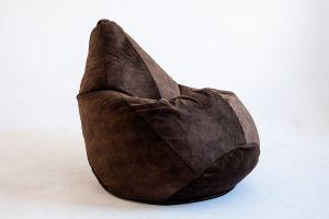 Кресло-груша Микровелюр шоколад