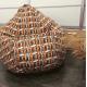 Кресло-груша Микровелюр c 3D принтом Tissage