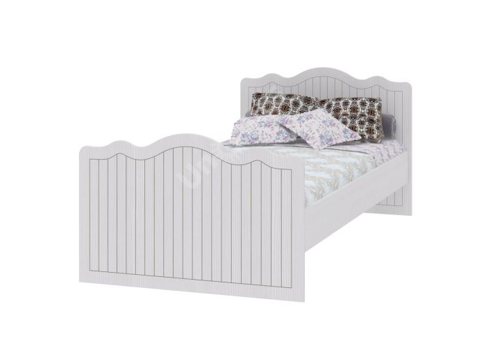 Bella, Кровать 900 с настилом ИД 01.252, Спальни, Кровати, Стоимость 8348 рублей.