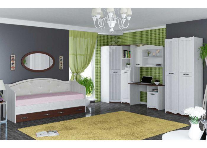 Bella, Кровать 900 с настилом ИД 01.252, Спальни, Кровати, Стоимость 8348 рублей., фото 3