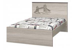 Хэппи, Кровать 1200 с настилом ИД 01.254