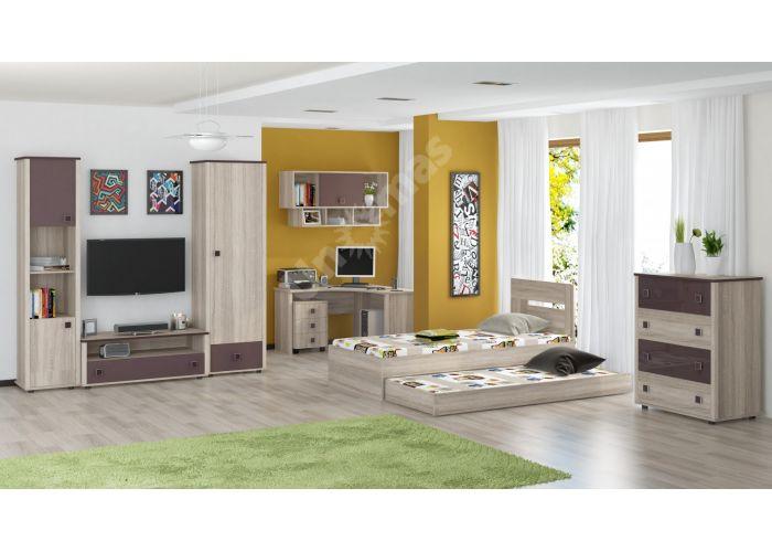 Хэппи, Кровать 900 с настилом ИД 01.245а, Спальни, Кровати, Стоимость 8250 рублей., фото 2