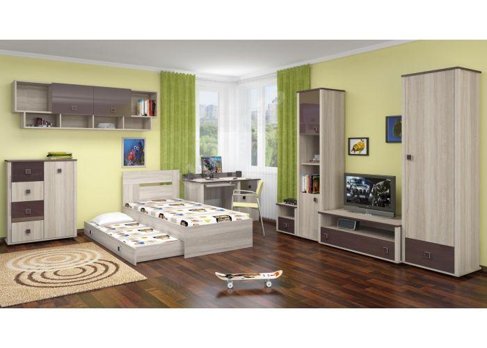 Хэппи, Кровать 900 с настилом ИД 01.245а, Спальни, Кровати, Стоимость 8250 рублей., фото 4