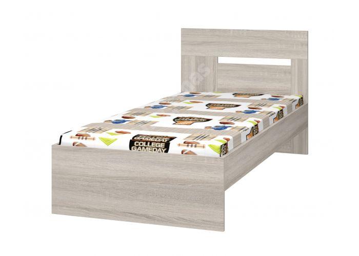 Хэппи, Кровать 900 с настилом ИД 01.245а, Спальни, Кровати, Стоимость 8250 рублей.