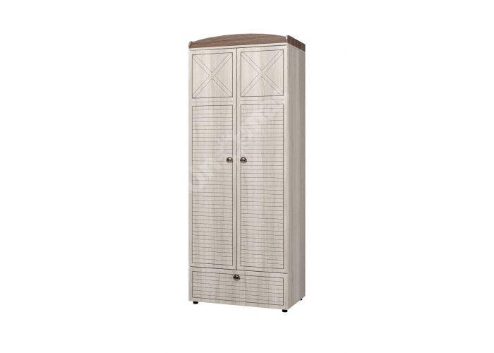 Калипсо, Шкаф для одежды 2-х дверный с ящиком ИД 01.346, Спальни, Шкафы, Стоимость 12616 рублей.