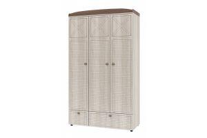Калипсо, Шкаф для одежды 3-х дверный ИД 01.386
