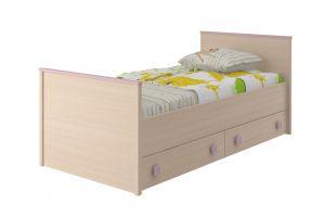 Pink, Кровать 800 с настилом ИД 01.94