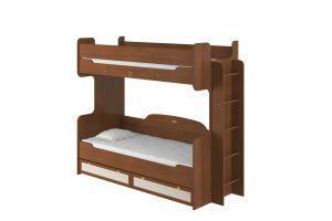 Робинзон, Кровать 2-х ярусная 800 с настилом ИД 01.164а