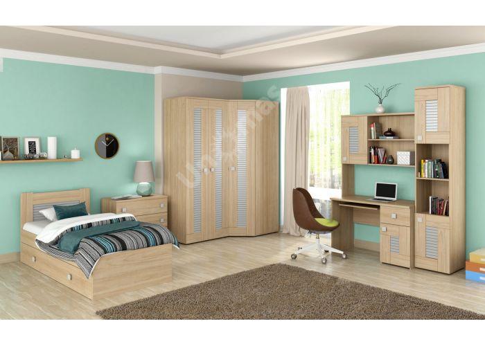 Саша модерн, Шкаф для одежды 3-х дверный ИД 01.67, Спальни, Шкафы, Стоимость 21562 рублей., фото 2
