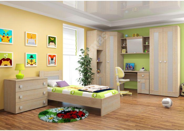 Саша модерн, Шкаф для одежды 3-х дверный ИД 01.67, Спальни, Шкафы, Стоимость 21562 рублей., фото 4