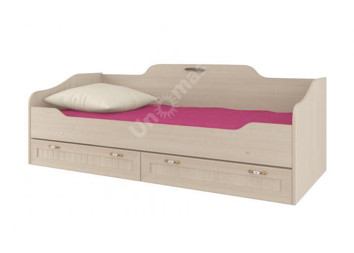 Соната, Кровать одинарная 800 с настилом ИД 01.95а, Детская мебель, Детские кровати, Стоимость 12017 рублей.
