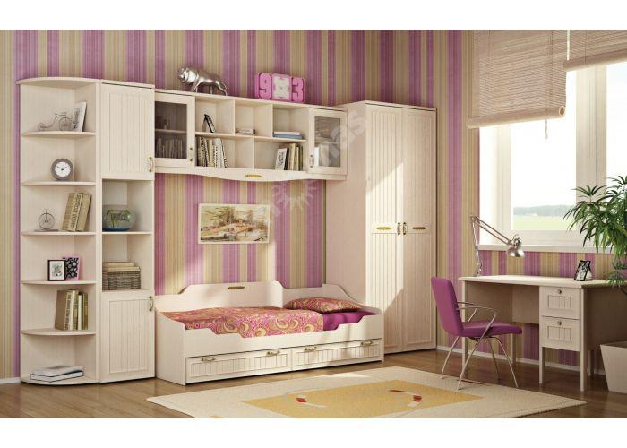 Соната, Кровать одинарная 800 с настилом ИД 01.95а, Детская мебель, Детские кровати, Стоимость 11445 рублей., фото 3