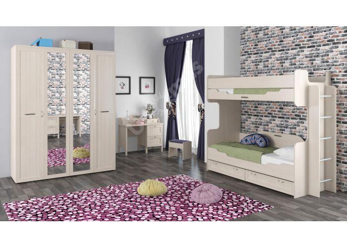 Соната, Кровать одинарная 800 с настилом ИД 01.95а, Детская мебель, Детские кровати, Стоимость 11445 рублей., фото 2