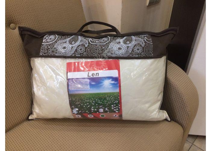 Подушка 50х70 см / лён / стеганная, Распродажа, Стоимость 850 рублей., фото 3
