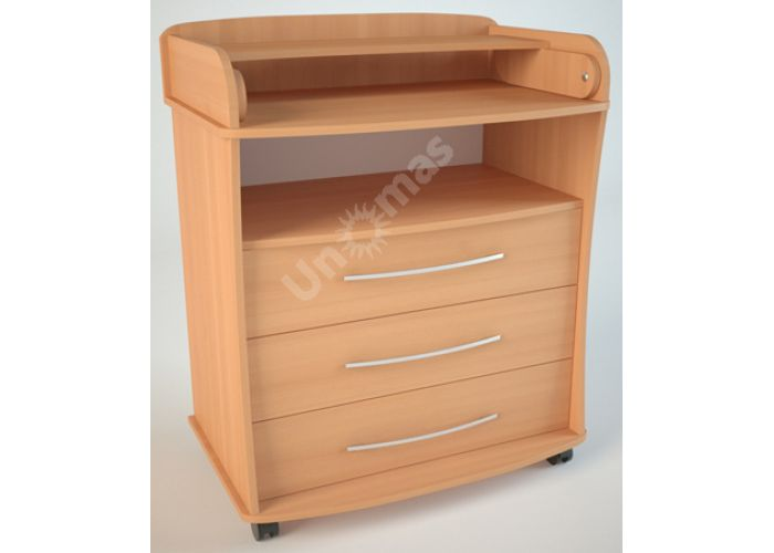 К1 (пеленальный) Комод, Детская мебель, Комоды пеленальные, Стоимость 5832 рублей.