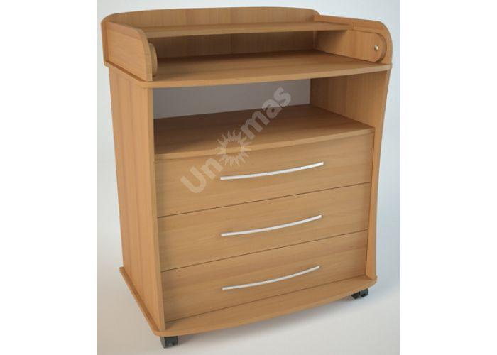 К1 (пеленальный) Комод Ольха, Детская мебель, Комоды пеленальные, Стоимость 6075 рублей.