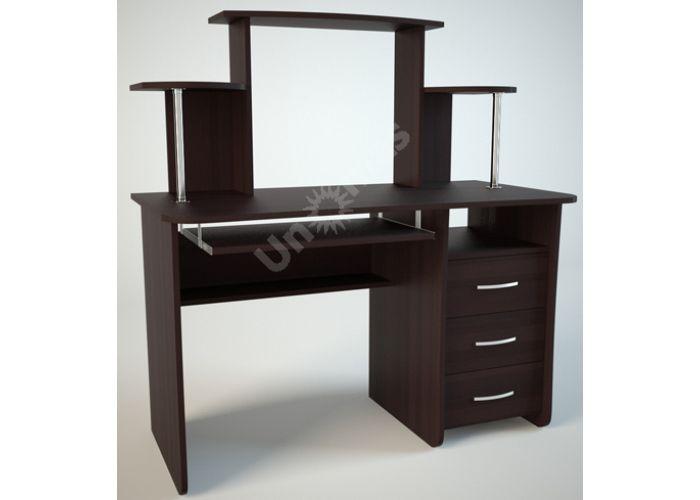 КС1 Компьютерный стол Венге, Офисная мебель, Компьютерные и письменные столы, Стоимость 6156 рублей.