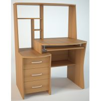 КС3 Компьютерный стол Ольха