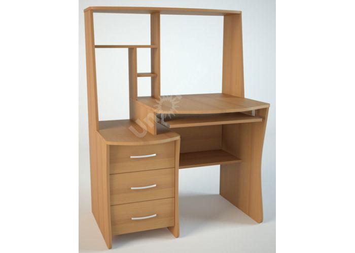 КС3 Компьютерный стол Ольха, Офисная мебель, Компьютерные и письменные столы, Стоимость 5778 рублей.