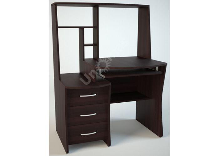КС3 Компьютерный стол Венге, Офисная мебель, Компьютерные и письменные столы, Стоимость 6018 рублей.