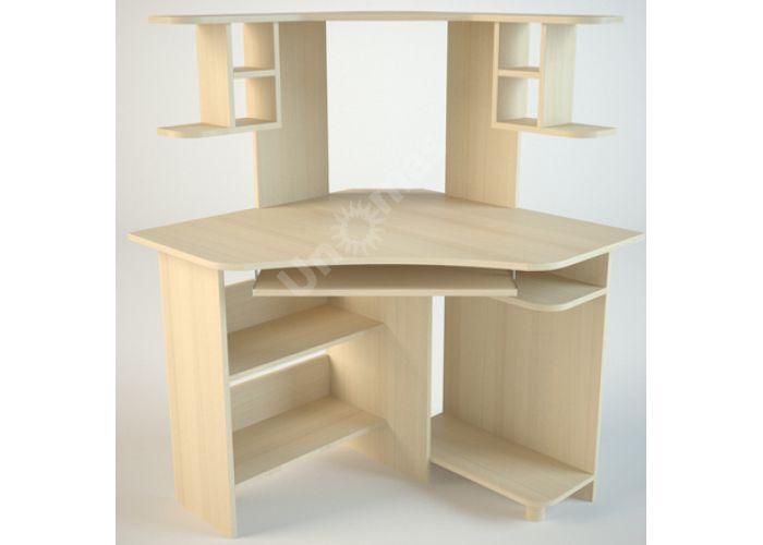 КС4 Компьютерный стол Дуб светлый, Офисная мебель, Компьютерные и письменные столы, Стоимость 5256 рублей.