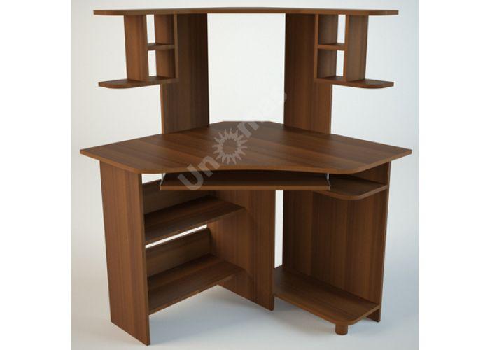 КС4 Компьютерный стол Орех, Офисная мебель, Компьютерные и письменные столы, Стоимость 5256 рублей.