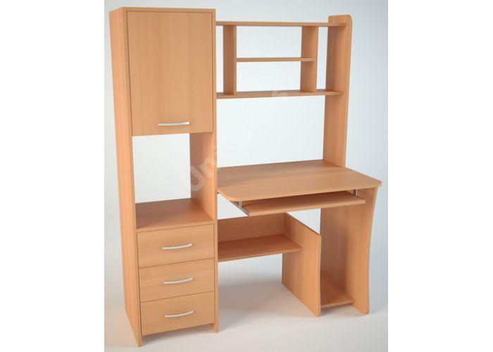 КС5 Компьютерный стол, Офисная мебель, Компьютерные и письменные столы, Стоимость 7596 рублей.