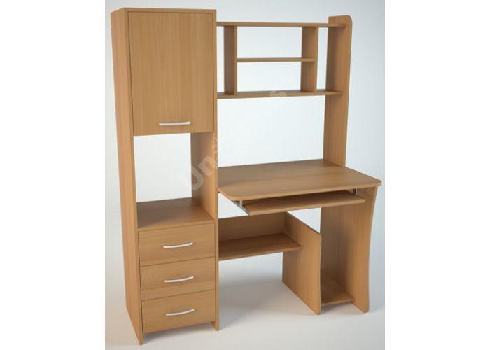 КС5 Компьютерный стол Ольха, Офисная мебель, Компьютерные и письменные столы, Стоимость 7596 рублей.