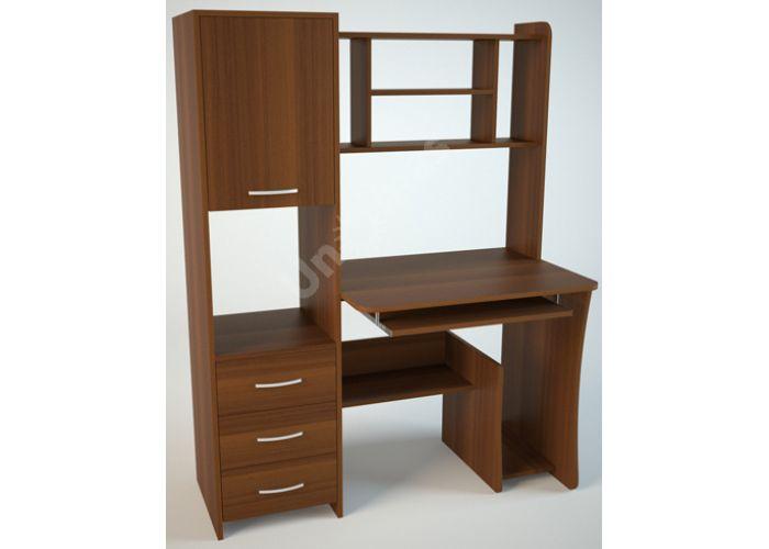 КС5 Компьютерный стол Орех, Офисная мебель, Компьютерные и письменные столы, Стоимость 7913 рублей.