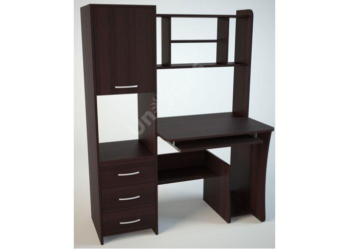 КС5 Компьютерный стол Венге, Офисная мебель, Компьютерные и письменные столы, Стоимость 7596 рублей.