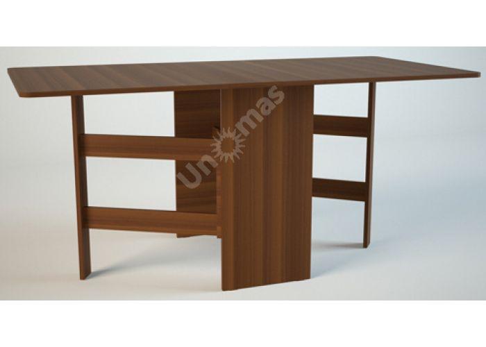 СТ1 Стол-тумба «Книжка» Орех, Кухни, Обеденные столы, Стоимость 4338 рублей.
