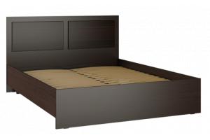 Александрия, АМ-13 Кровать без ламелей (160) Венге / Черный орех