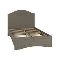 Ассоль plus Грей, АС-111К кровать без ламелей