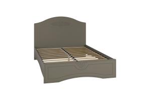 Ассоль plus Грей, АС-112К кровать без ламелей