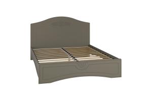 Ассоль plus Грей, АС-113К кровать без ламелей