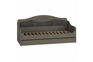 Ассоль plus Грей, АС-47 Кровать без ламелей