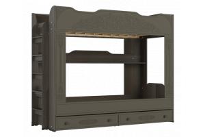 Ассоль plus Грей, АС-25 двухъярусная кровать