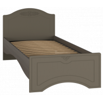 Ассоль plus Грей, АС-26 кровать без ламелей