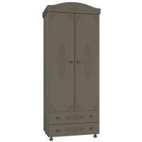 Ассоль plus Грей, АС-2 шкаф для одежды