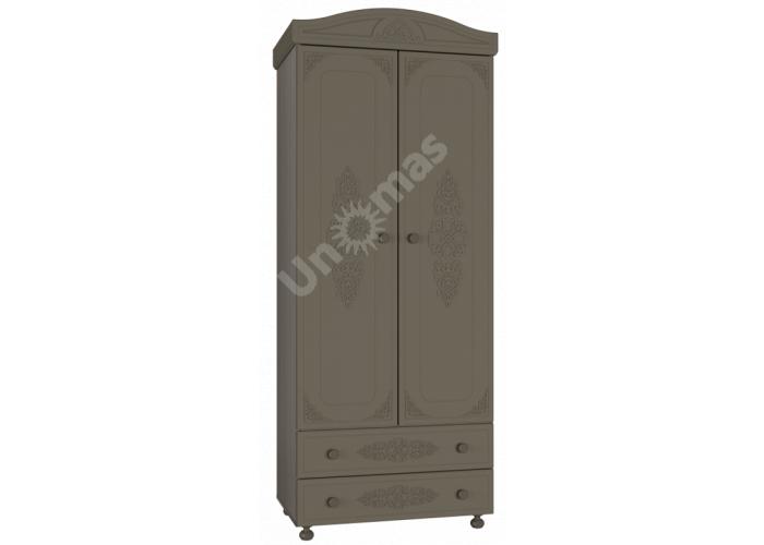 Ассоль plus Грей, АС-2 шкаф для одежды, Детская мебель, Модульные детские комнаты, Ассоль plus Грей, Стоимость 18336 рублей.