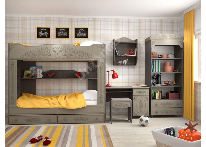 Ассоль plus Грей, АС-243К стол, Детская мебель, Модульные детские комнаты, Ассоль plus Грей, Стоимость 7747 рублей., фото 3